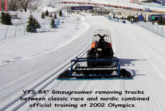 Ginzugroomer at the Olympics
